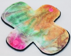 6 Inch Rainbow Hand Dyed Bamboo Velour Mini Liner