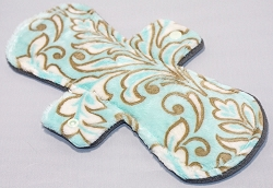 11 Inch Marina Madrid Minky Overnight Cloth Pad