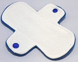 6 Inch Raw Silk Regular Pantyliner - Wide Width
