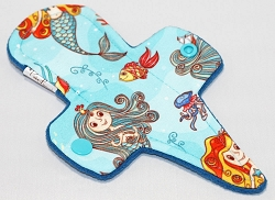 7.5 Inch Sirens Polyester Jersey Thong Pantyliner