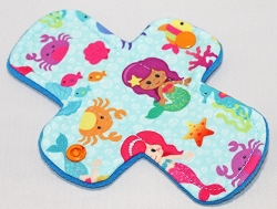 6 Inch Mermaids Polyester Jersey Mini Pantyliner - Original Width