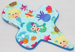 7.5 Inch Mermaids Polyester Jersey Thong Pantyliner