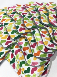 Hopeful Hearts Cotton Jersey Pads with Fleece backs - Pick Your Size!