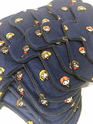 Little Wizards Cotton Woven Pads with Fleece backs - Pick Your Size!