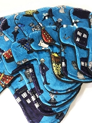 Exterminate Minky Pads with Fleece backs - Pick Your Size!