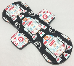 11 Inch Droids Cotton Overnight Pad with Fleece back