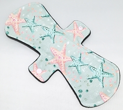 12 Inch Starfish Minky Ultimate Overnight Cloth Pad