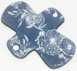 7.5 Inch Line Drawings Cotton Jersey Regular Cloth Pantyliner