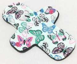 8 Inch Flutter Cotton Jersey Light Pad with Fleece back