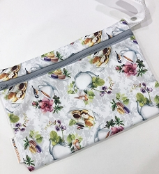Smart Bottoms Small Single Pocket Wet Bag - Tea Party