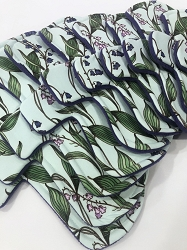 Wildflowers Poly Jersey Pads with Fleece backs - Pick Your Size!