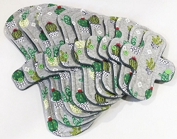 Cacti Cotton Jersey Pads with Fleece backs - Pick Your Size!