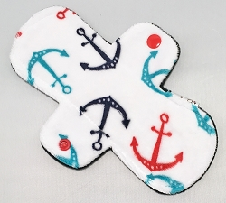 8 Inch Anchors Minky Light Pad with Fleece back