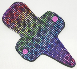 7.5 Inch Friday Night Lights Minky Thong Cloth Pantyliner