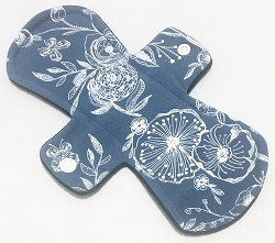 6 Inch Night Skies Cotton Jersey Mini Cloth Pantyliner - Origianl Width