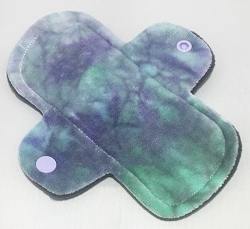 6 Inch Iris Hand Dyed Bamboo Velour Mini Liner - Wide Width