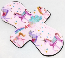 10 Inch Majestic Minky Heavy Pad with Fleece back
