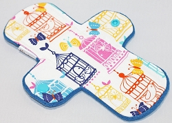 8 Inch Birdcages Cotton Woven Light Pad with Fleece back