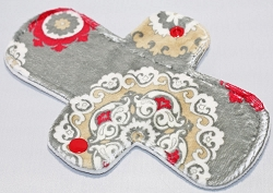 8 Inch Scarlet Mirage Minky Light Cloth Pad