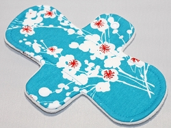 8 Inch Cherry Blossoms Cotton Jersey Cloth Light Pad