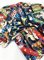 Wonder Woman Cotton Woven Pads with Fleece backs - Pick Your Size!