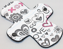 7.5 Inch Love Notes Cotton Jersey Regular Liner