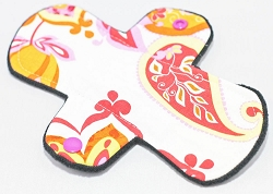 7.5 Inch Cotton Woven Pantyliner with Fleece back
