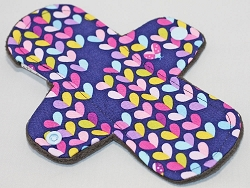 7.5 Inch Lovebug Cotton Woven Cloth Pantyliner