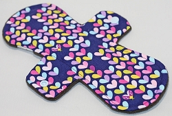 10 Inch Lovebug Cotton Woven Heavy Cloth Pad