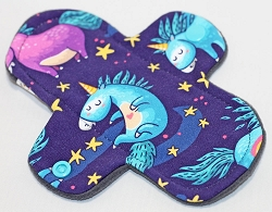 6 Inch Sweet Dreams Cotton Jersey Mini Cloth Pantyliner - Wide Width