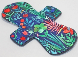 11 Inch Jungle Poly Jersey Overnight Pad with Fleece back
