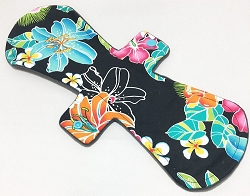 13 Inch Luau Cotton Woven Postpartum Cloth Pad