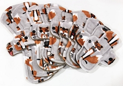 Mr Fox Minky Pads with Fleece backs - Pick Your Size!