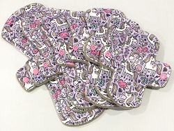 Mythical Minky Pads with Fleece backs - Pick Your Size!