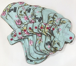 Paris Garden Cotton Woven Pads with Fleece backs - Pick Your Size!