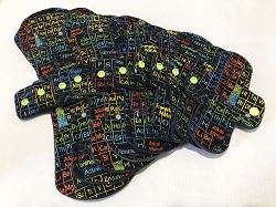 Periodic Table Cotton Woven Pads with Fleece backs - Pick Your Size!