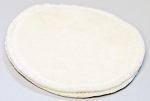 Undyed Bamboo Velour Cloth Velour Nursing Pads