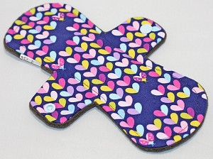 9 Inch Lovebug Cotton Woven Day Cloth Pad