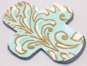 6 Inch Marina Madrid Minky Mini Cloth Pantyliner