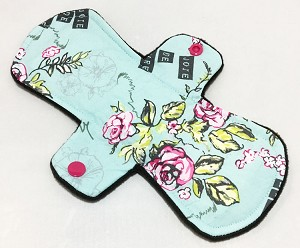 9 Inch Paris Garden Cotton Day Pad with Fleece back