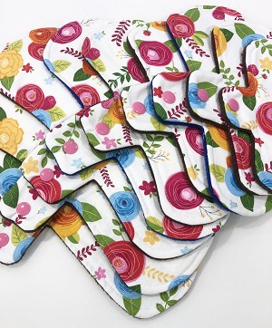 Amelia Cotton Woven Pads with Fleece backs - Pick Your Size!