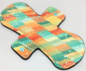 10 Inch Autumn Haze Poly Jersey Heavy Pad with Fleece back