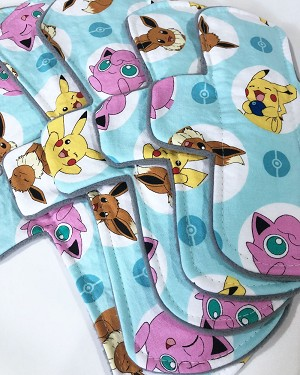 Pika-Pads Cotton Woven Pads with Fleece backs - Pick Your Size!