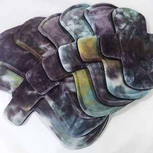 Ghost Stories Hand Dyed Bamboo Velour Pads with Fleece backs - Pick Your Size!