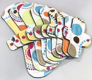 Mod Circles Minky Pads with Fleece backs - Pick Your Size!