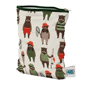 Brawny Bears Small Single Pocket Wet Bag