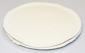 Raw Silk and Bamboo Fleece Nursing Pads
