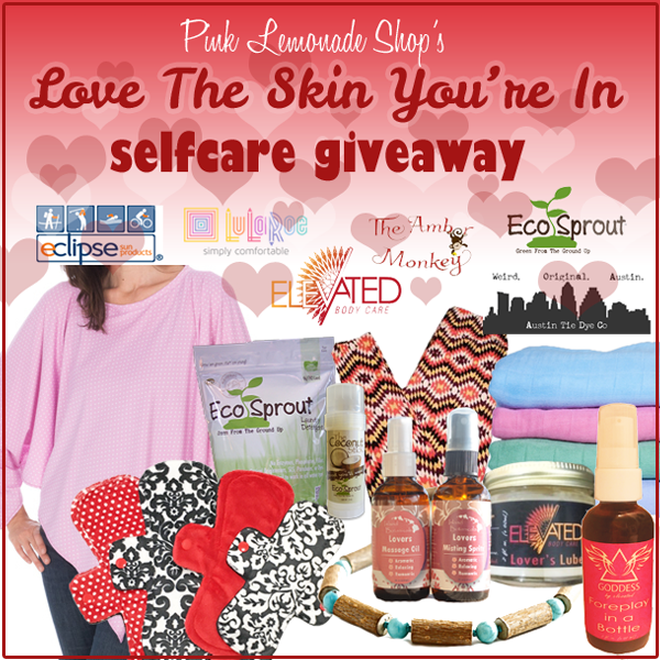 Pink Lemonade Shop's Love the SKIN You're In #Selfcare Giveaway!