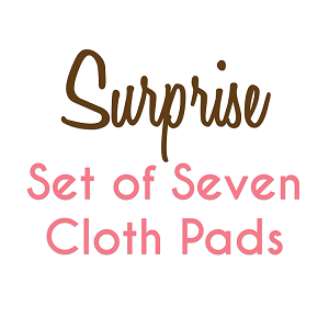 Set of 7 Surprise Fabric Pads with Fleece backs