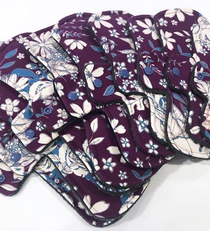 Elise Cotton Jersey Pads with Fleece backs - Pick Your Size!